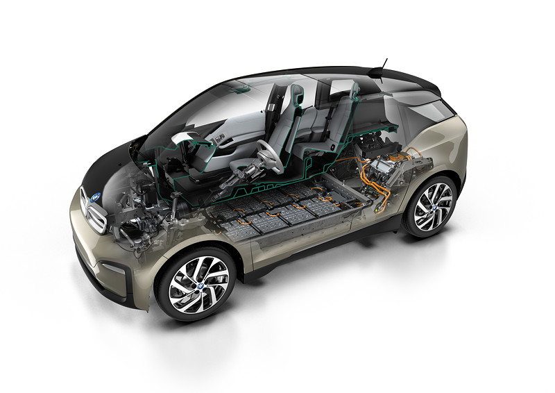 Der neue BMW i3 (120 Ah) - Technical Art
