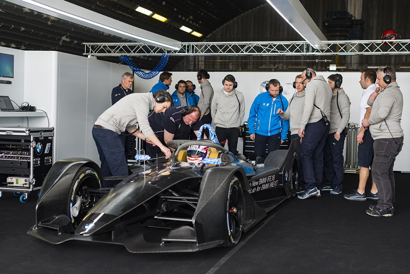 BMW iFE.18, Roll-out, ABB FIA Formula Championship, Tom Blomqvist.