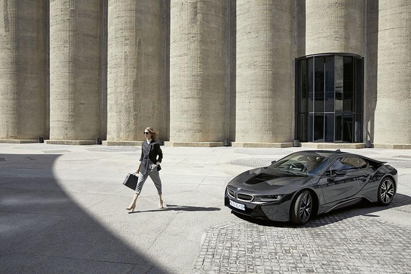 BMW i Jacke Damen