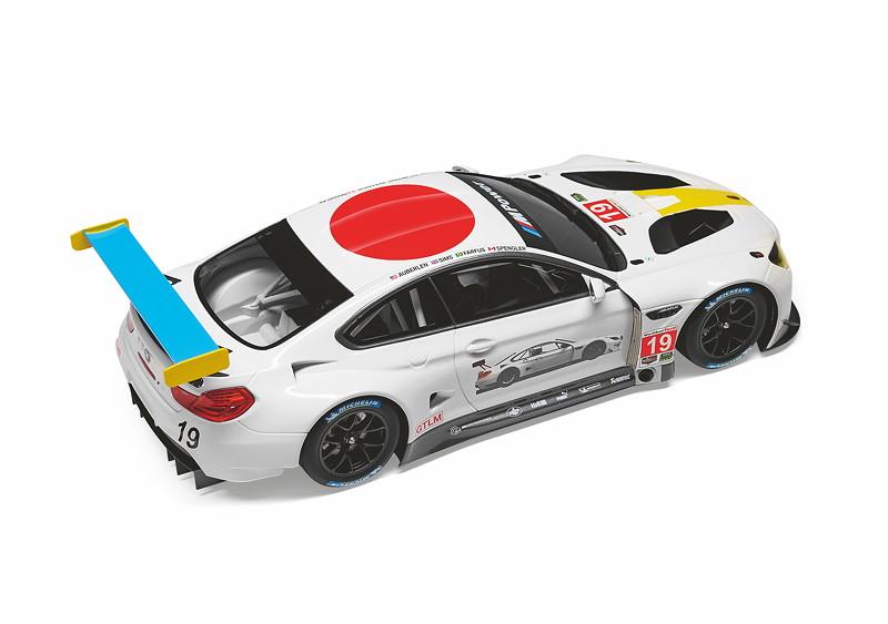 BMW Miniatur BMW M6 GTLM John Baldessari
