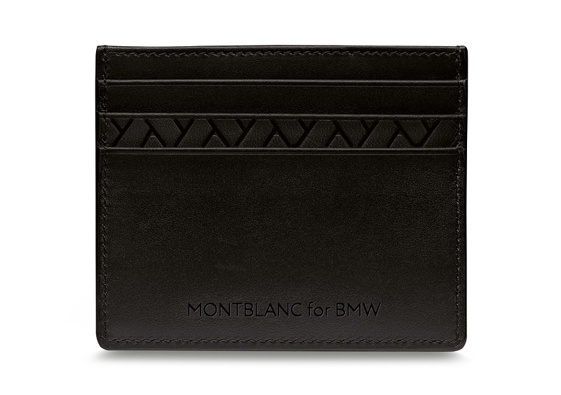 BMW Iconic Montblanc for BMW Kreditkartenetui