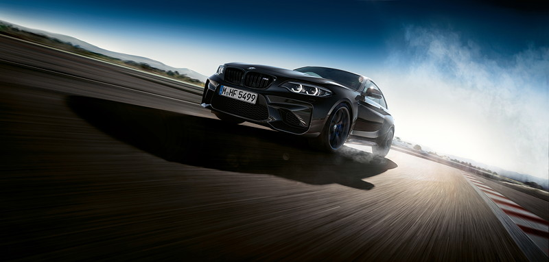 Die neue BMW M2 Coupé Edition Black Shadow.
