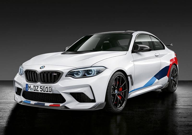 BMW M2 Coupé Competition mit BMW M Performance Parts