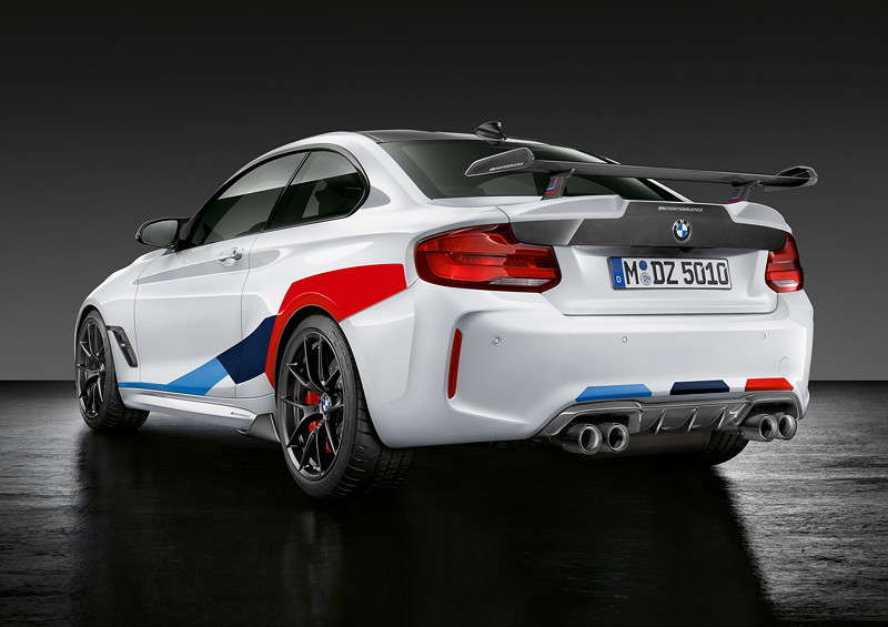 BMW M2 Coupé Competition mit BMW M Performance Parts