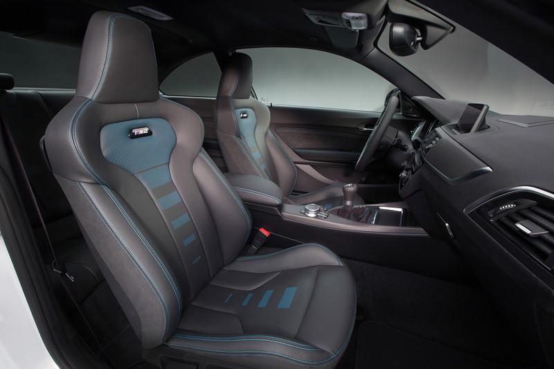 BMW M2 Competition, Innenraum vorn