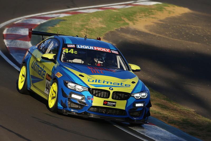 Bathurst (AU), 04.02.2018. BMW Motorsport, Bathurst 12 Std.-Rennen, BMW M4GT4 C Class, Dean Grant (AUS), Xavier West (AUS), Cameron Hill (AUS).