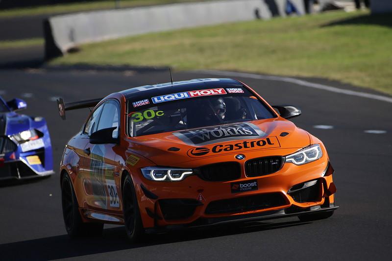 Bathurst (AU), 04.02.2018. BMW Motorsport, Bathurst 12 Std.-Rennen. BMW M4 GT4 C Class, Aaron Seton (AUS), Matt Brabham (AUS), Anthony Longhurst (AUS).