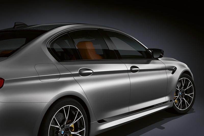 BMW M5 Competition, 'M5 Competition' Schriftzug im Seitenschweller