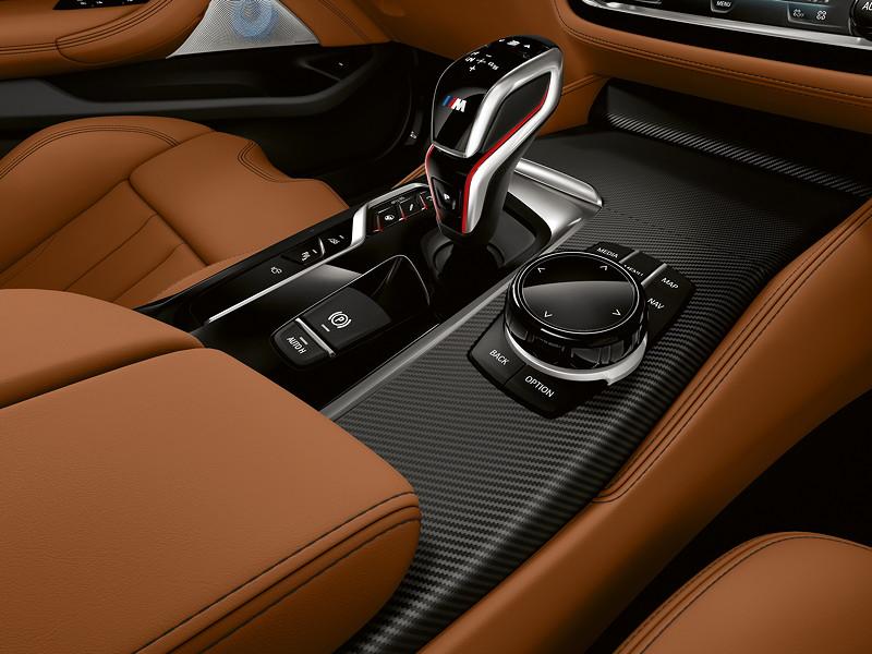BMW M5 Competition, Mittelkonsole mit iDrive Controller