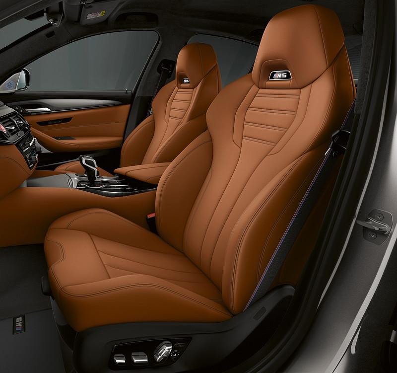 BMW M5 Competition, Innenraum vorne