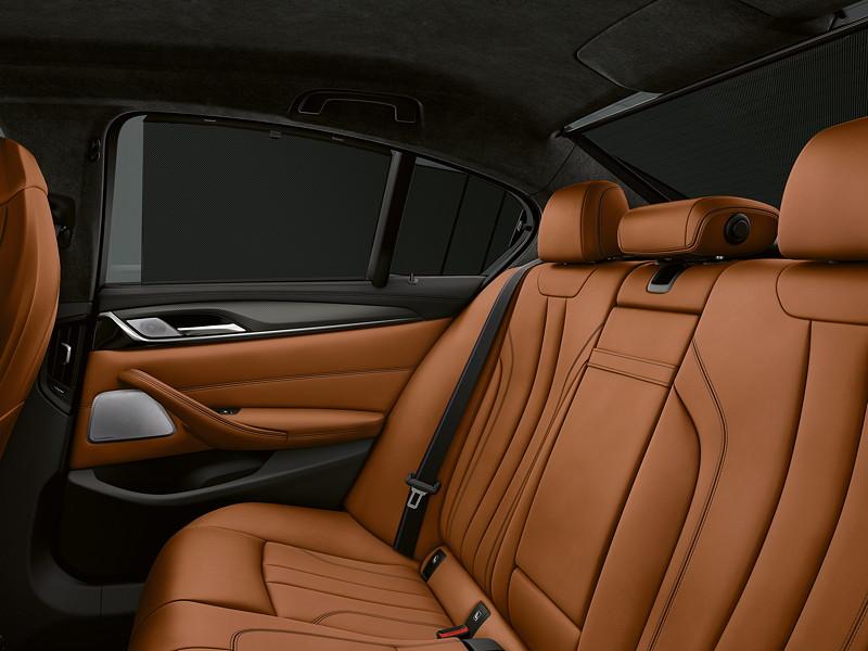 BMW M5 Competition, Innenraum hinten