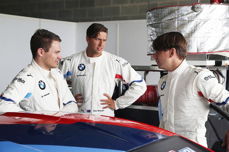 Bathurst (AU), 01.02.2018. BMW Motorsport, Bathurst 12 Std.-RennenMarco Wittmann, Chaz Mostert (AUS) und Augusto Farfus (BRA) BMW M6 GT3, BMW Team Schnitzer.