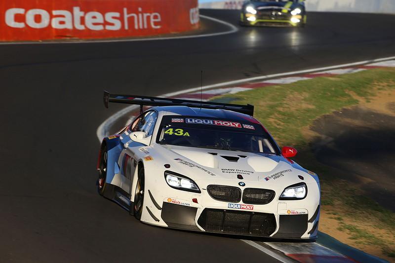 Bathurst (AU), 04.02.2018. BMW Motorsport, Bathurst 12 Std.-Rennen, Marco Wittmann, Augusto Farfus (BRA), Chaz Mostert (AUS), BMW M6 GT3 Nr. 43A.