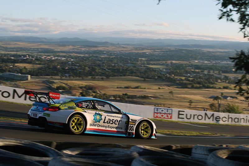 Bathurst (AU), 04.02.2018. BMW Motorsport, Bathurst 12 Std.-Rennen, Steve Richards (AUS), Timo Glock und Philipp Eng (AUT) BMW M6 GT3 Nr. 100A.