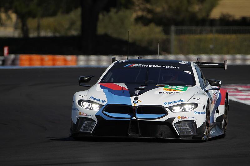 Le Castellet (FRA), 06.04.2018. BMW Motorsport, FIA WEC Prolog. BMW M8 GTE Nr. 82. Testfahrt.