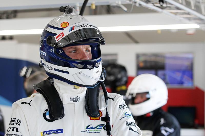 Le Castellet (FRA), 06.04.2018. BMW Motorsport, FIA WEC Prolog. BMW Pilot Martin Tomczyk (GER).