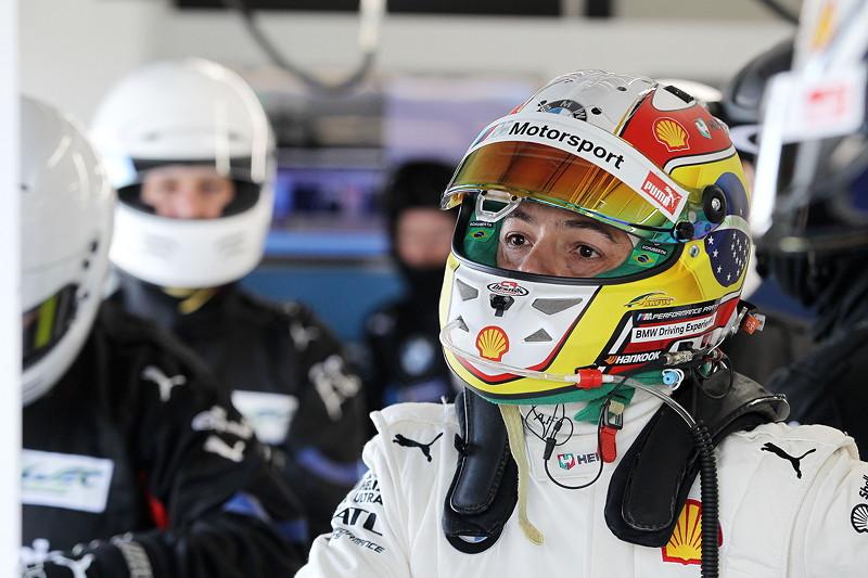 Le Castellet (FRA), 06.04.2018. BMW Motorsport, FIA WEC Prolog. BMW Pilot Augusto Farfus (BRA).