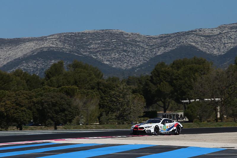 Le Castellet (FRA), 07.04.2018. BMW Motorsport, FIA WEC Prolog. BMW M8 GTE Nr. 81. Testfahrt.