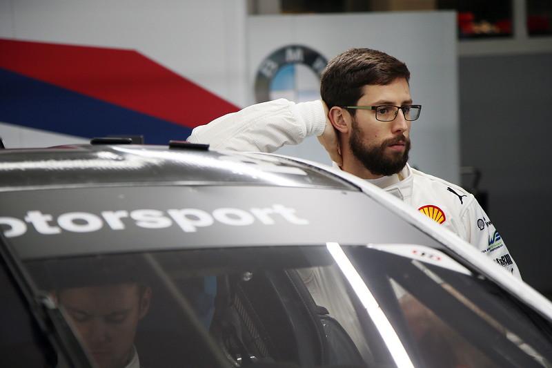Le Castellet (FRA), 05.04.2018. BMW Motorsport, FIA WEC Prolog. BMW Pilot Alexander Sims (GBR).