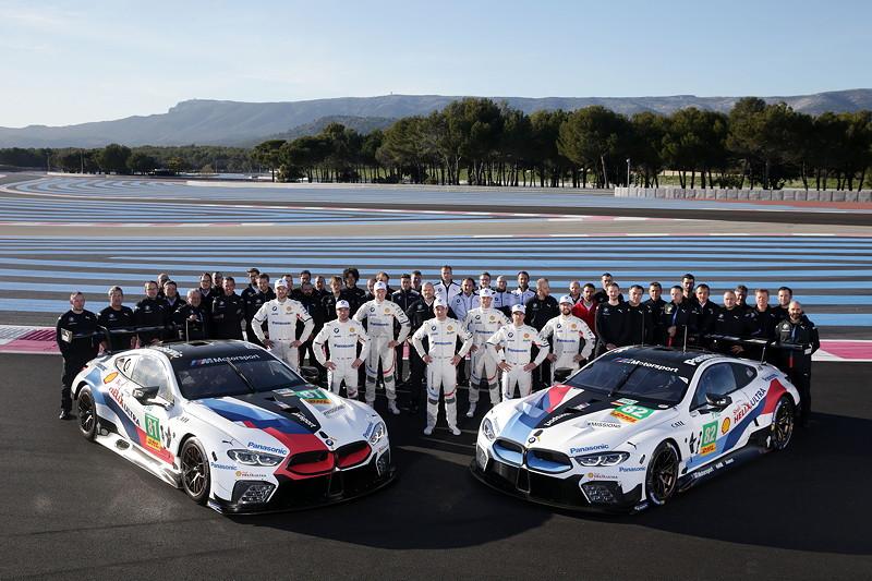 Le Castellet (FRA), 05. April 2018. BMW Motorsport, FIA WEC Prolog, Gruppenfoto.