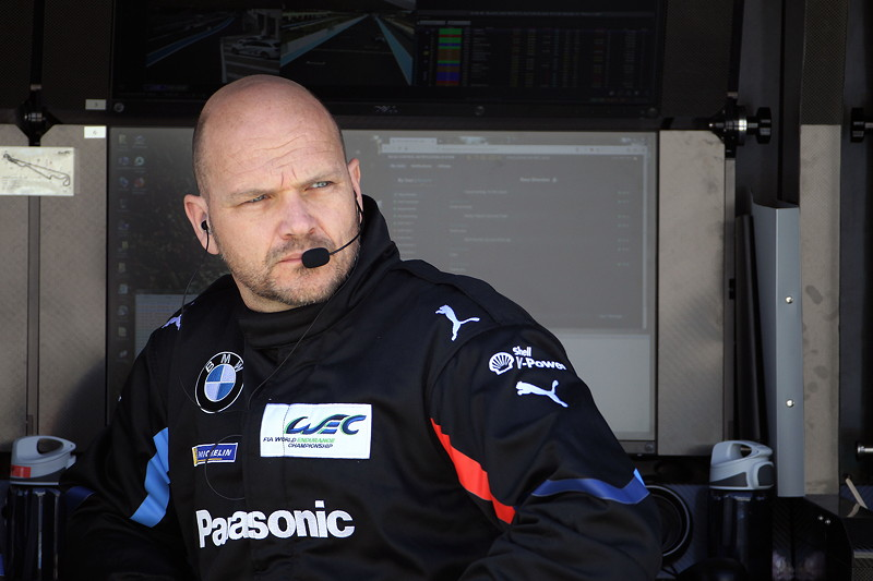 Le Castellet (FRA), 06.04.2018. BMW Motorsport, FIA WEC Prolog. BMW Team MTEK Chef Ernest Knoors (NED).
