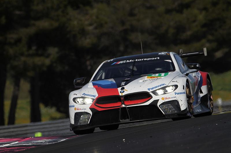 Le Castellet (FRA), 06.04.2018. BMW Motorsport, FIA WEC Prolog. BMW M8 GTE Nr. 81.