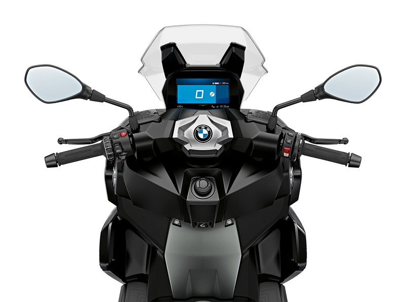 BMW C 400 X, Blackstorm metallic.