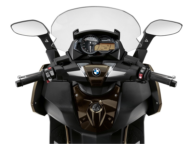 BMW C 650 GT, Option 719 Sparkling Storm metallic.