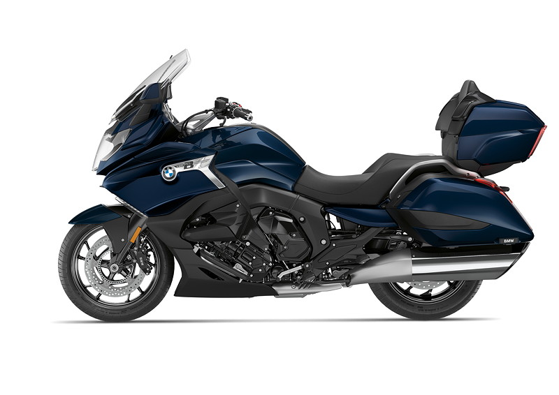 BMW K 1600 Grand America, Imperialblau metallic.