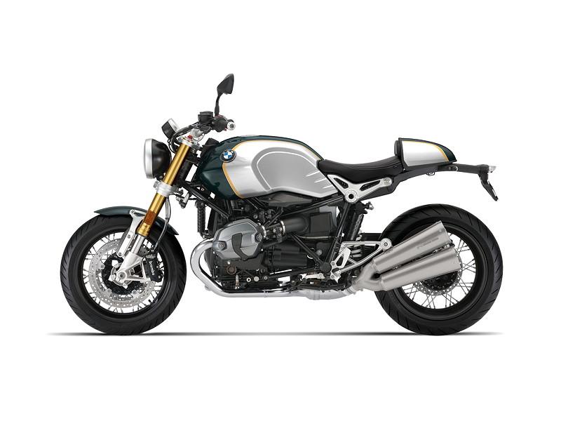 BMW R nineT, BMW Motorrad Spezial: Option 719 Pollux metallic / Aluminium.