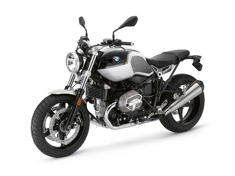 BMW R nineT Pure, BMW Motorrad Spezial: Option 719 Blackstorm metallic / Lightwhite uni.