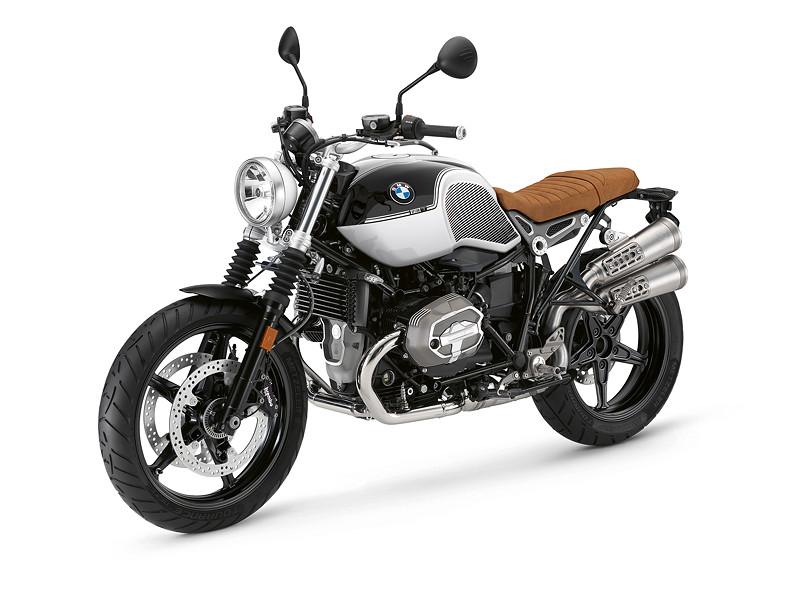 BMW R nineT Scrambler, BMW Motorrad Spezial: Option 719 Blackstorm metallic / Lightwhite uni.