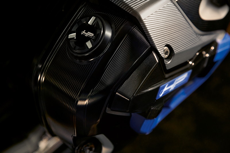 BMW R 1250 GS HP, Frästeilpaket HP