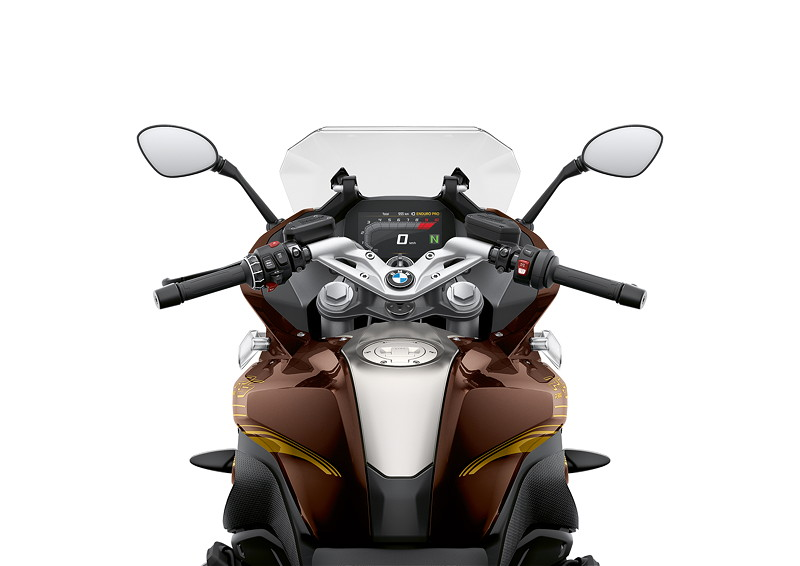 BMW R 1250 RS, Option 719 Stardust metallic