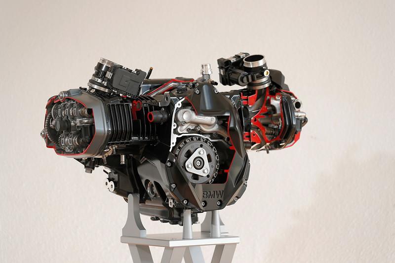 BMW R 1250, Schnittmotor