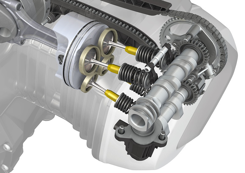 BMW R 1250 Boxermotor mit BMW ShiftCam