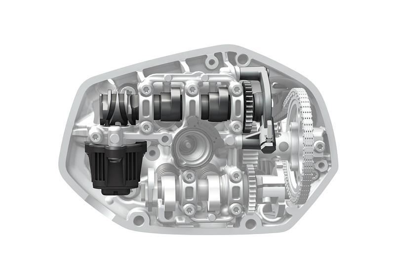 BMW R 1250 Boxermotor, BMW ShiftCam, Teillast