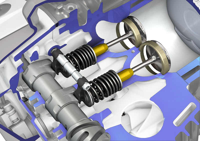 BMW R 1250 Boxermotor, BMW ShiftCam, Phasing