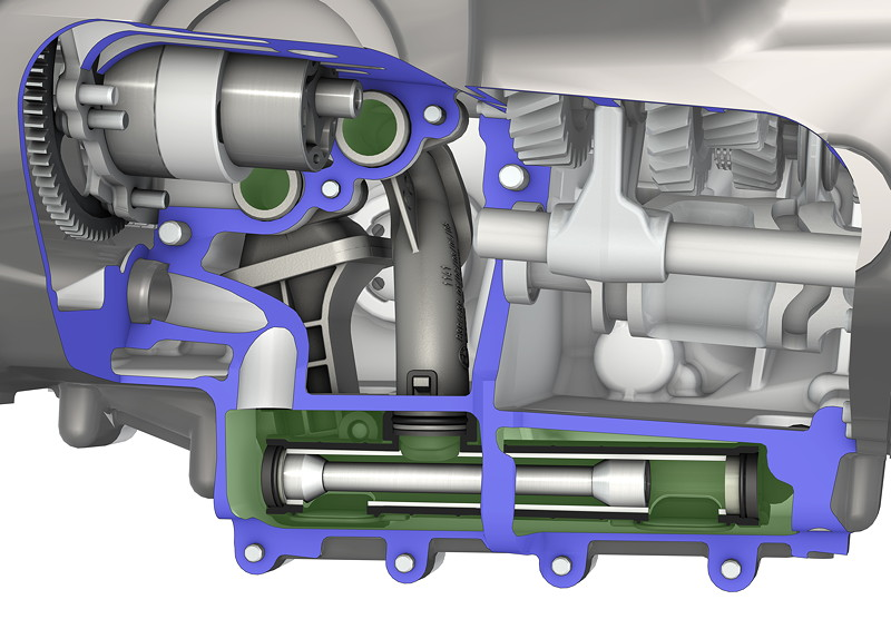 BMW R 1250 Boxermotor, Ölpumpe