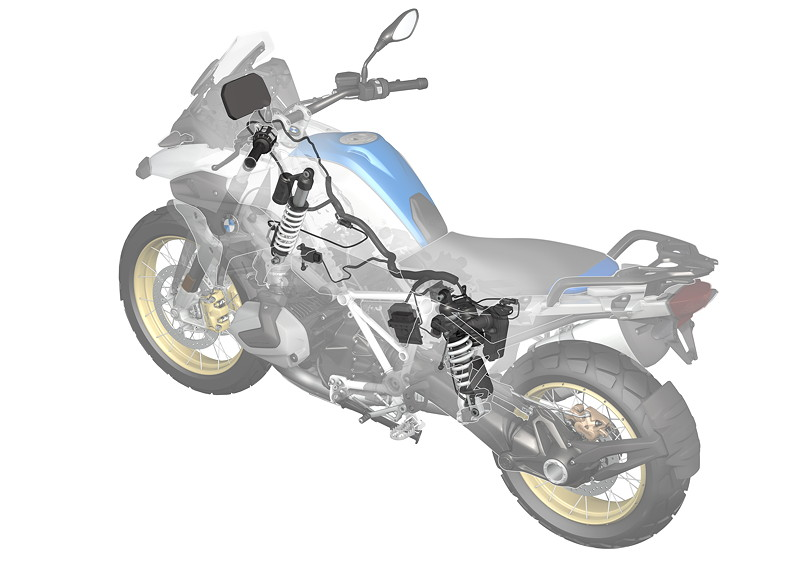 BMW R 1250 R, Dynamic ESA Next Generation
