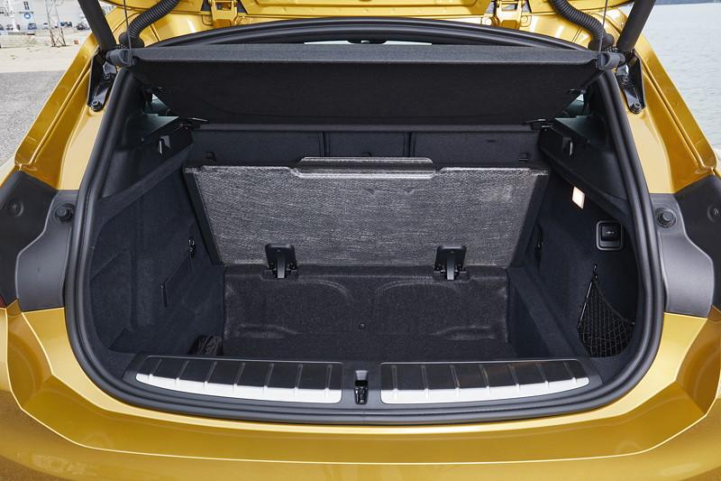 BMW X2, Kofferraum