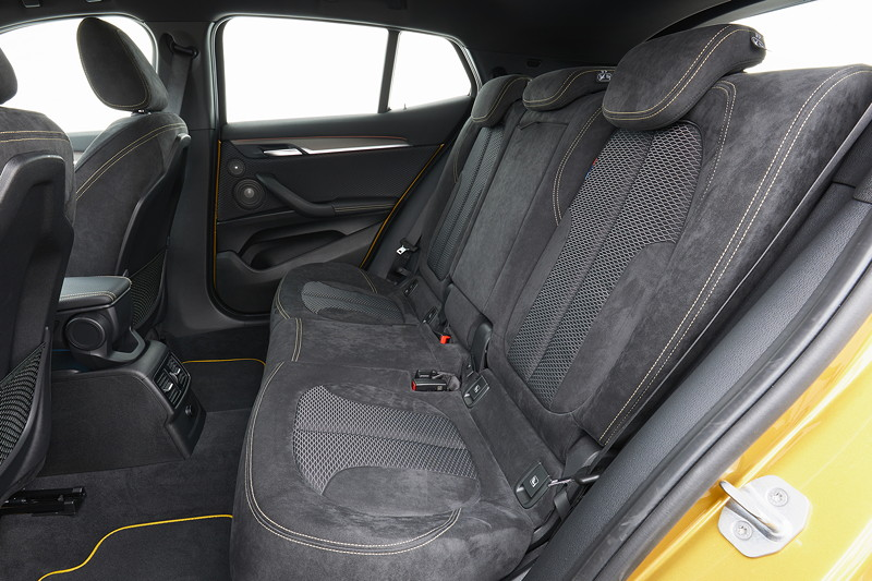 BMW X2, Sitze im Fond