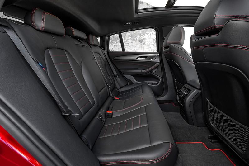 BMW X4, Interieur Fond