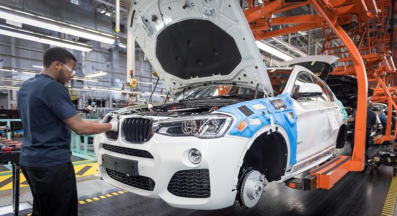 Produktion des 200.000. BMW X4 (F26) im Januar im BMW Werk Spartanburg