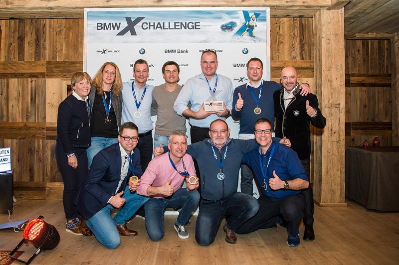 Team Spengler bei der BMW X Challenge in Seefeld/Innsbruck am 3. bis 5. März 2018.