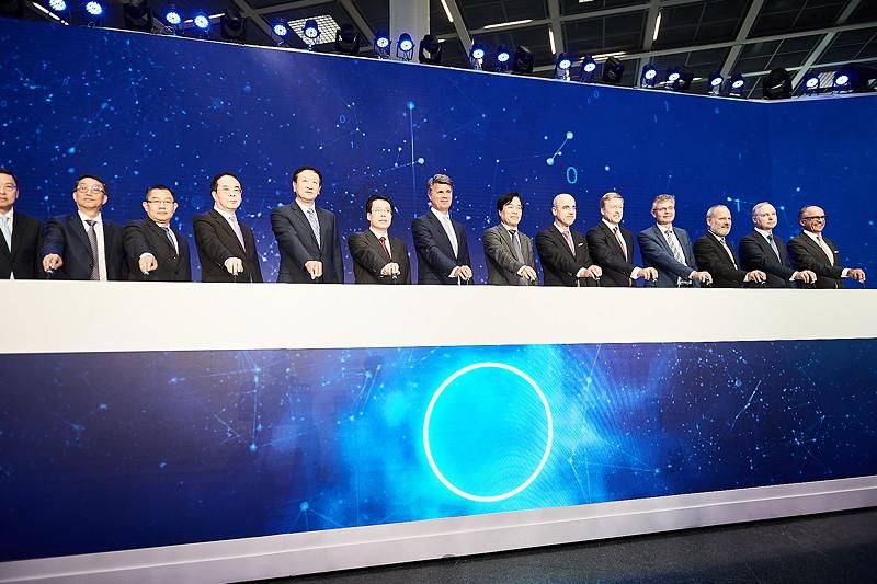 BMW China strategische Vertragsunterzeichnung