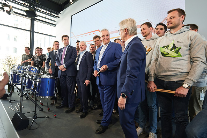 BMW Group Campus für autonomes Fahren in Unterschleißheim, Eröffnung.