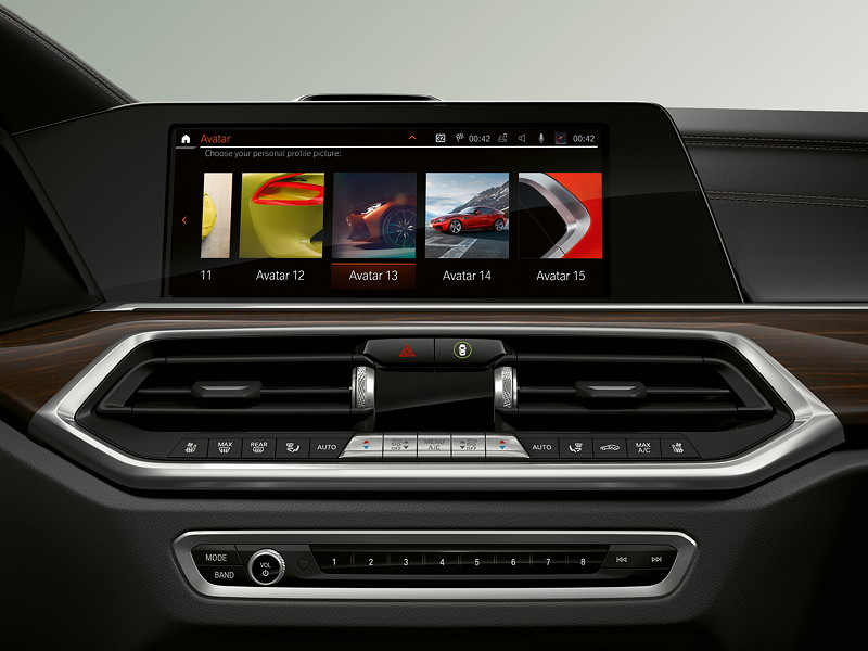 BMW Operating System 7.0 - Profilbilder.
