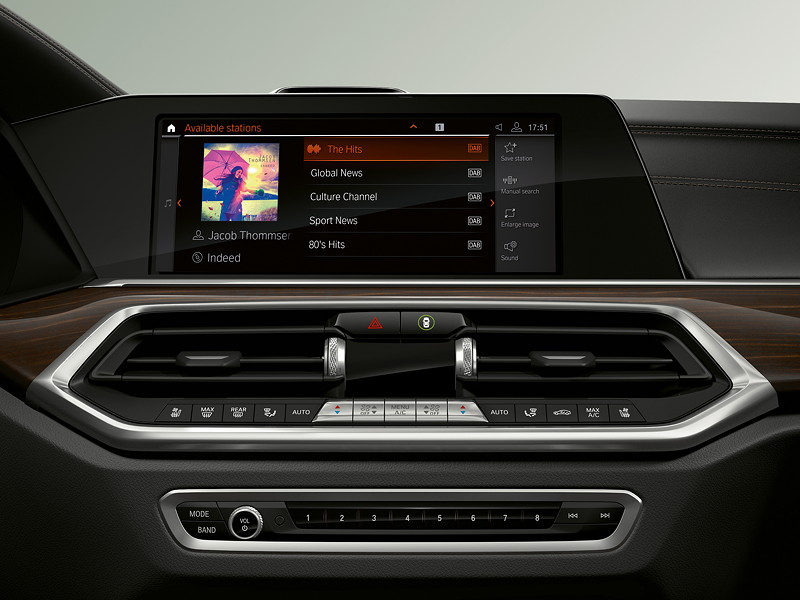BMW Operating System 7.0 - Display Media.