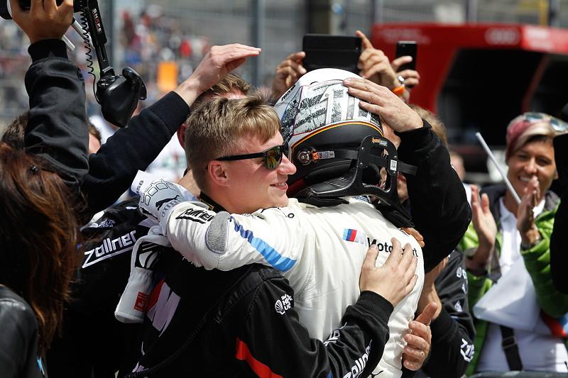 Norisring, 23.06.2018, DTM Rennen 7, Drittplatziertr Marco Wittmann im BMW Driving Experience M4 DTM.